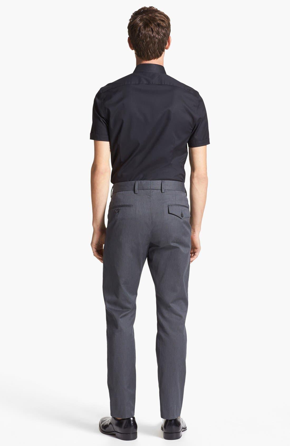 Alternate Image 4  - Calibrate Slim Fit Non-Iron Short Sleeve Shirt