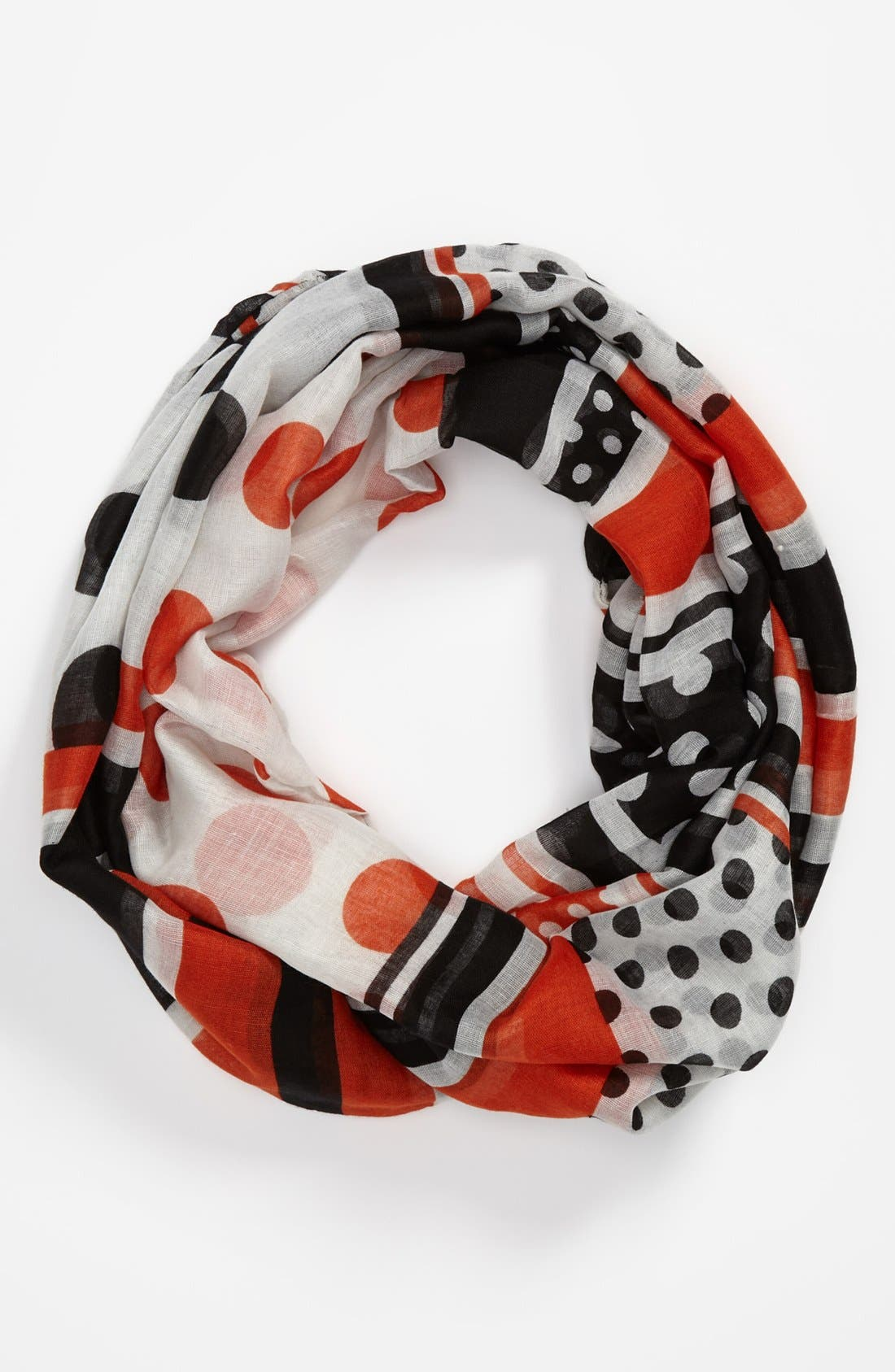 Alternate Image 1 Selected - Sayami Polka Dot & Stripe Infinity Scarf