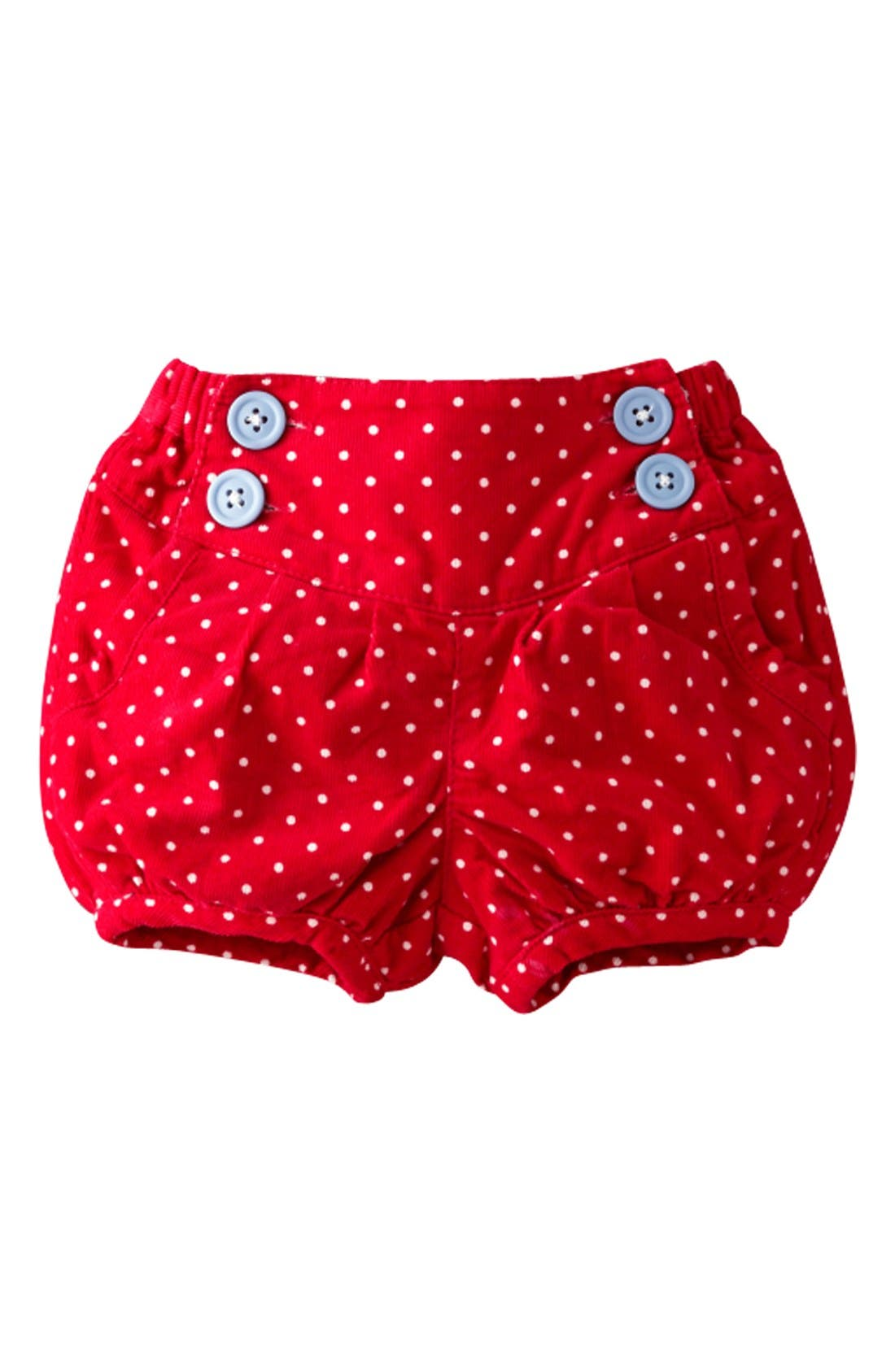 Alternate Image 1 Selected - Mini Boden 'Babycord' Bloomers (Baby Girls)