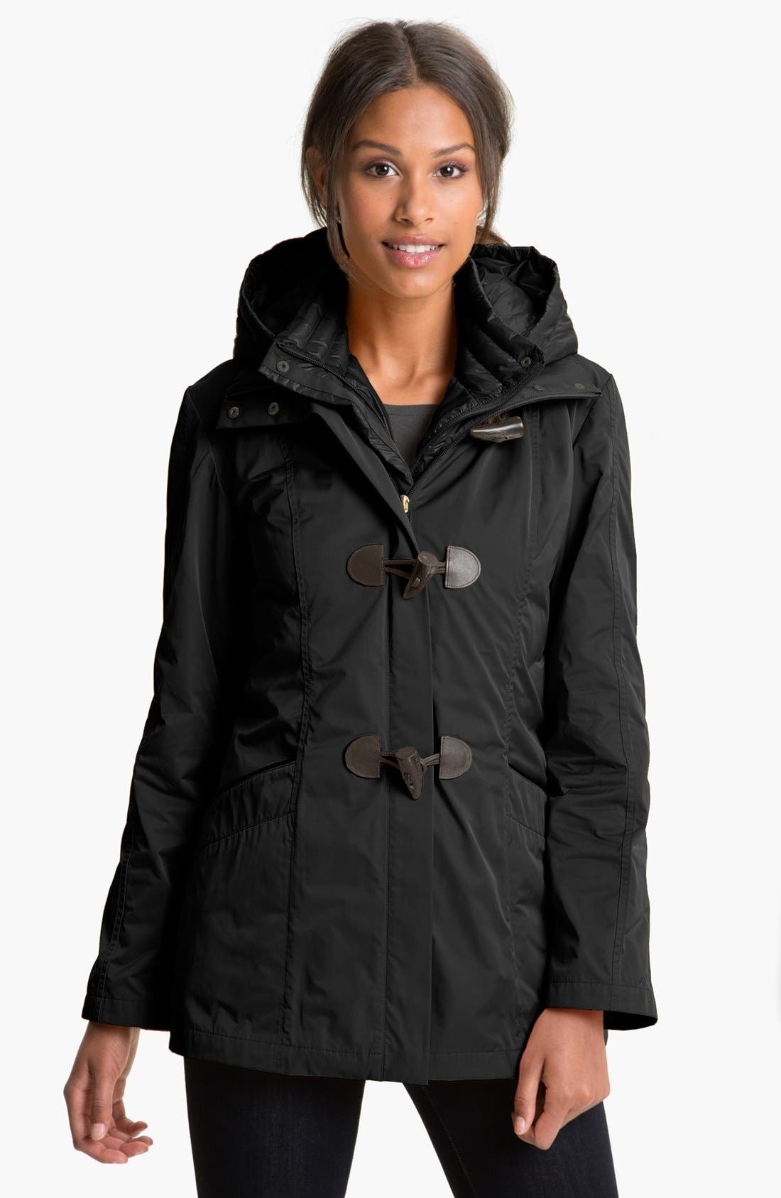 Main Image - RAINFOREST Packable Jacket with Down Vest