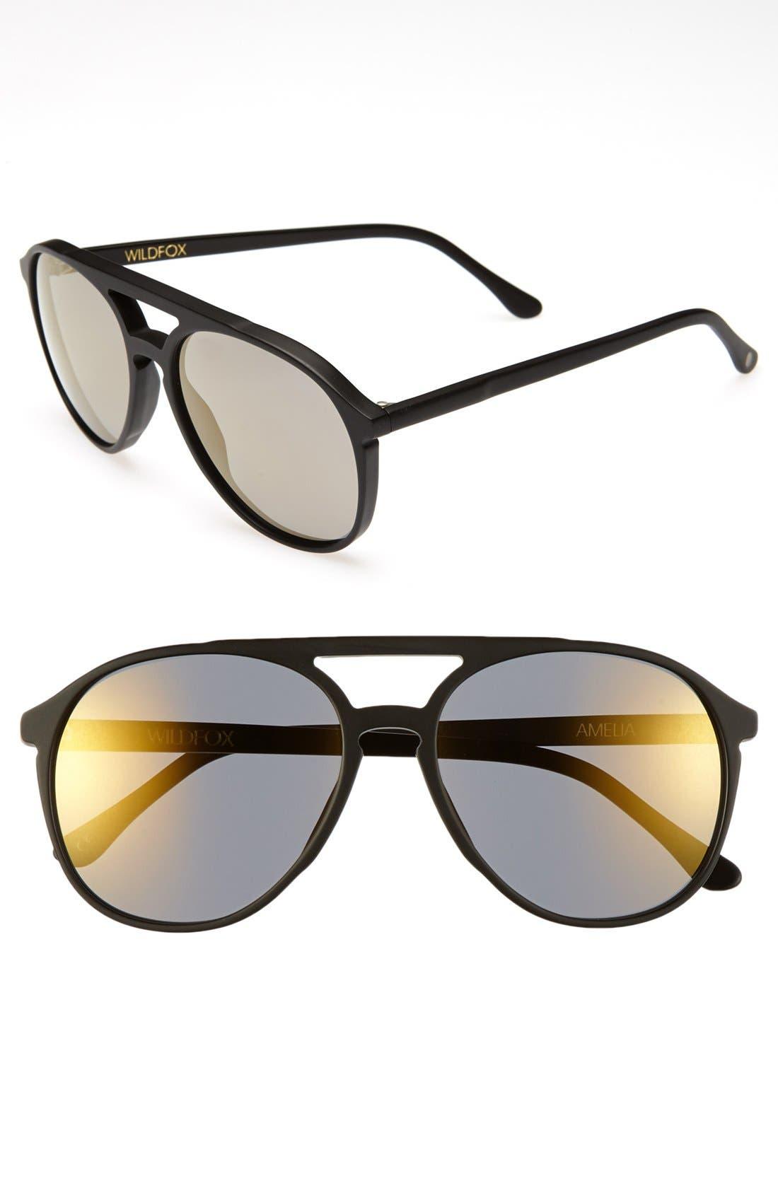 Main Image - Wildfox 'Amelia Deluxe' Sunglasses
