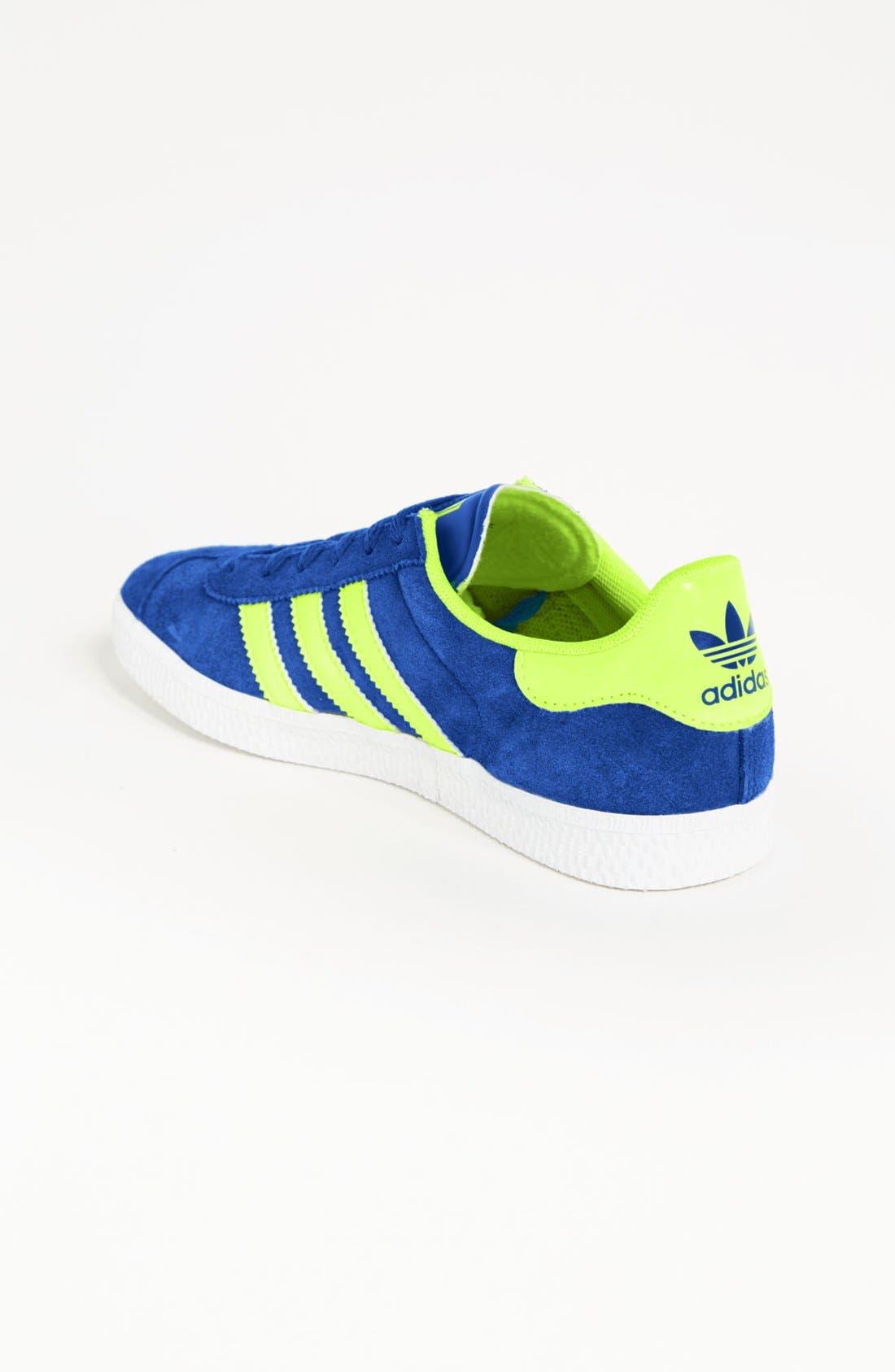 Alternate Image 2  - adidas 'Gazelle' Sneaker (Big Kid)