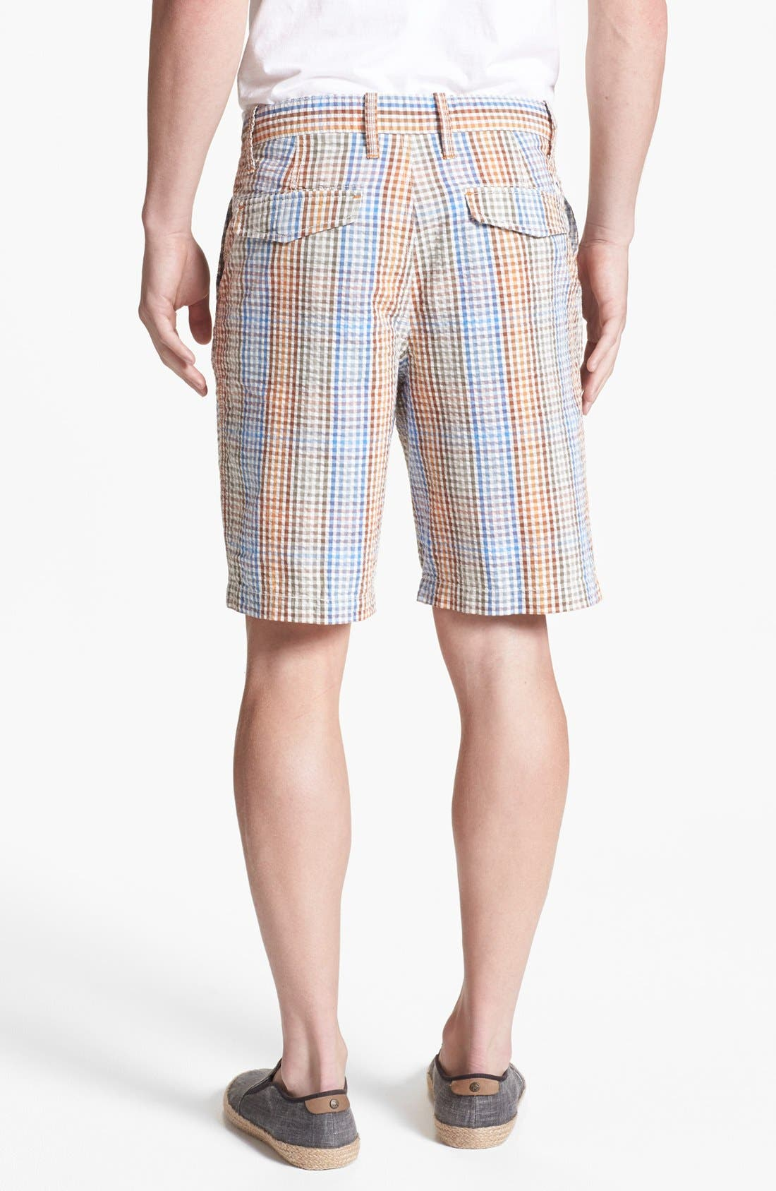 Alternate Image 2  - Tommy Bahama Denim 'Reef Ridge' Seersucker Shorts