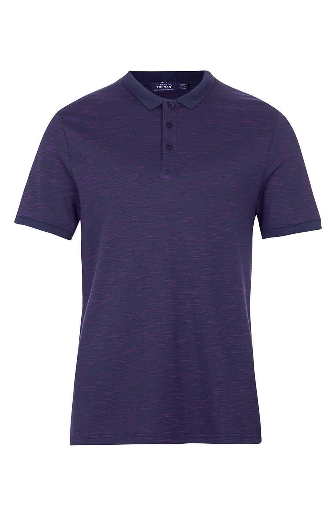Alternate Image 1 Selected - Topman Space Dyed Polo