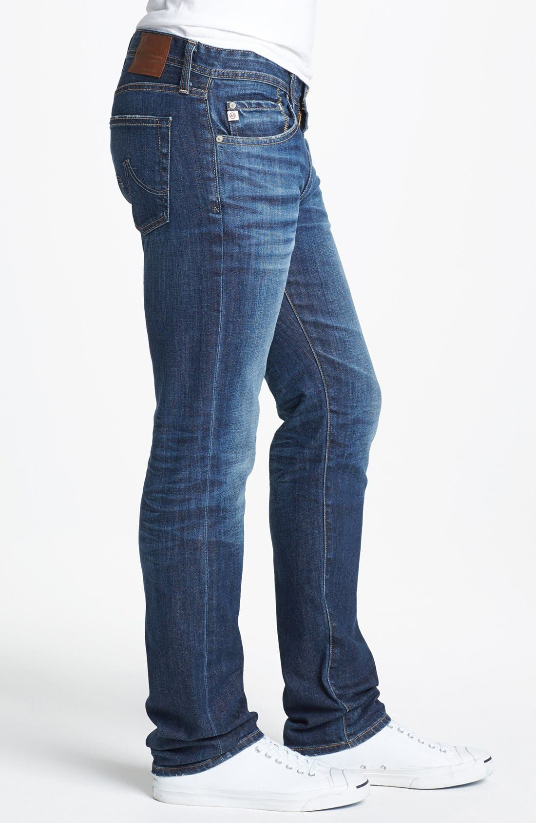 Alternate Image 3  - AG 'Matchbox' Slim Fit Jeans (Ten Years)