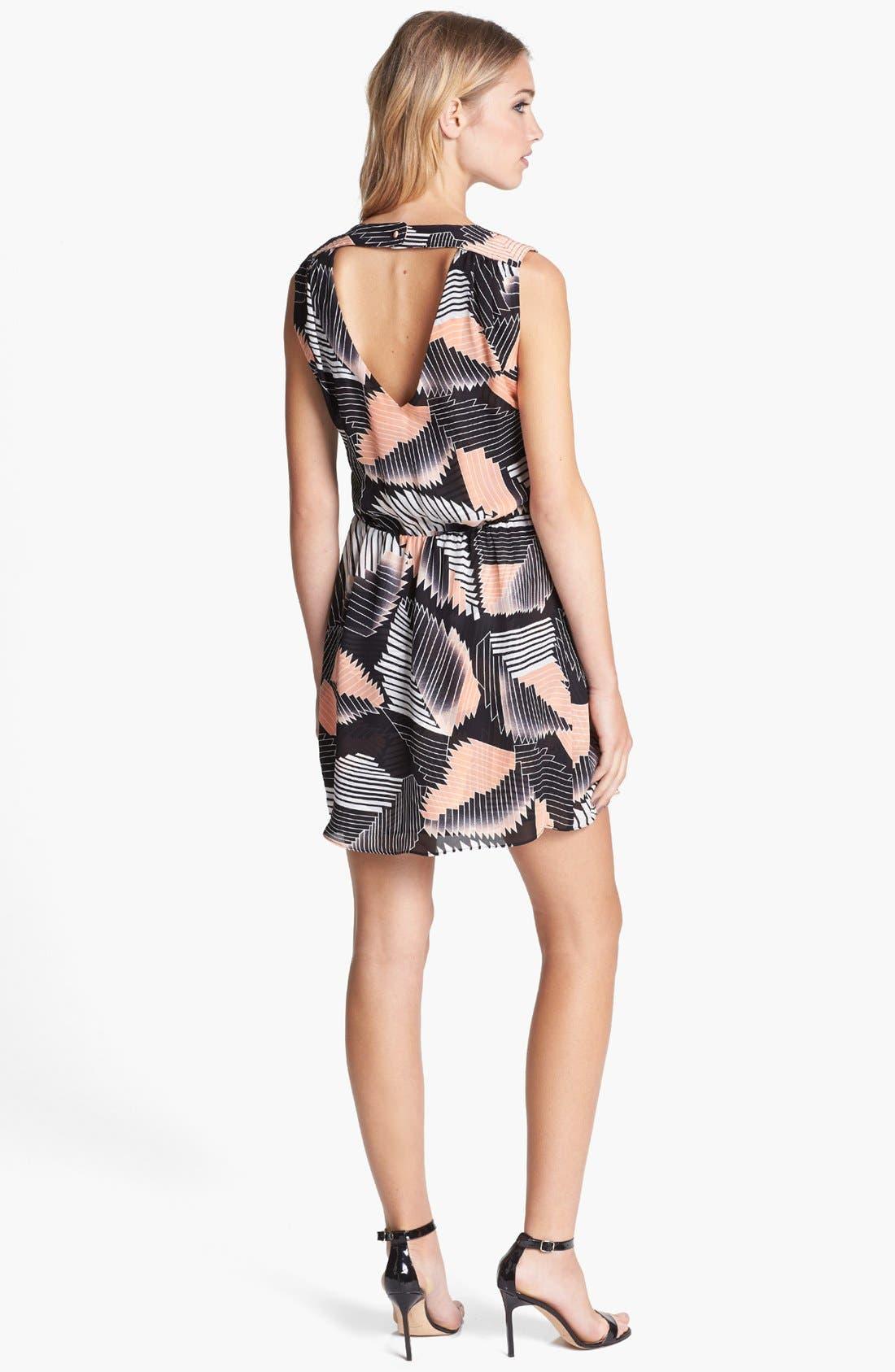 Alternate Image 2  - Parker 'Karen' Silk Blouson Dress