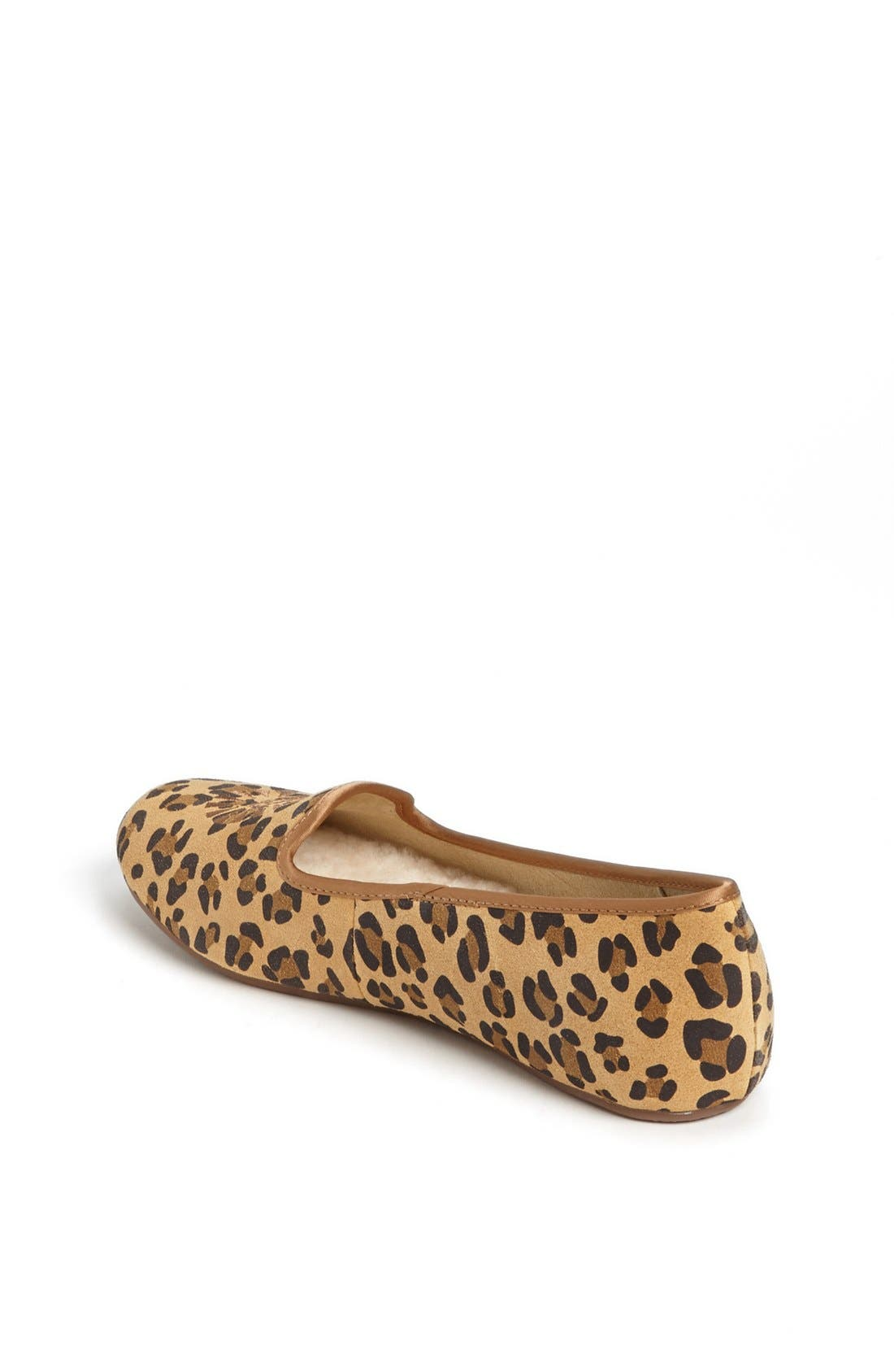 Alternate Image 2  - UGG® Australia 'Carey - Leopard' Flat (Little Kid & Big Kid)