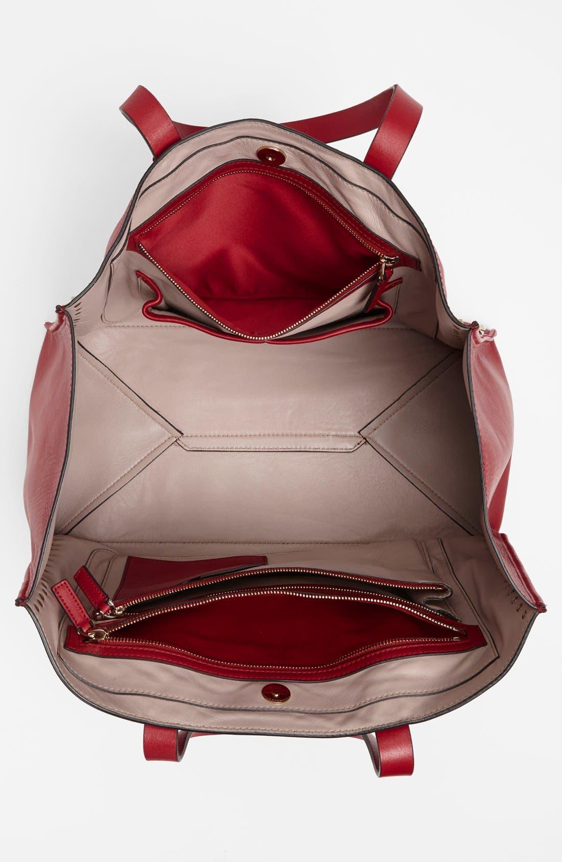 Alternate Image 3  - Valentino 'Medium Rockstud' Leather Tote