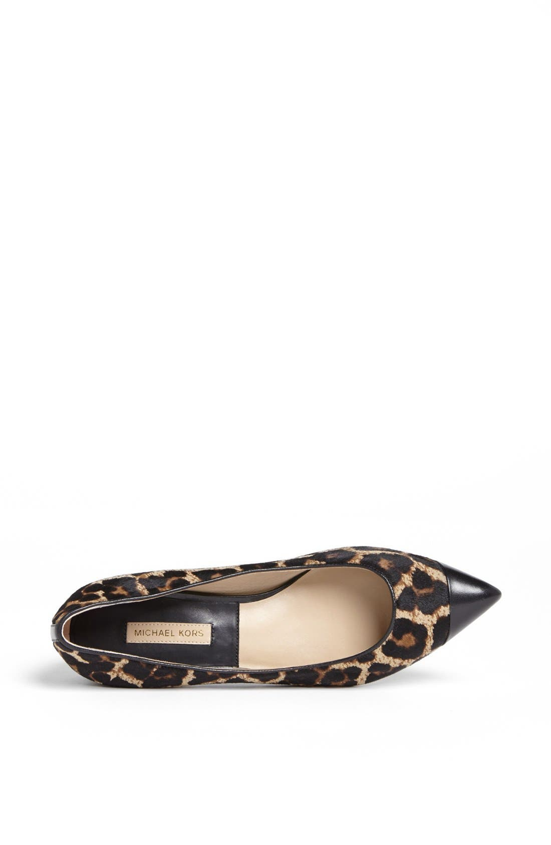 Alternate Image 3  - Michael Kors 'Janae' Calf Hair Flat
