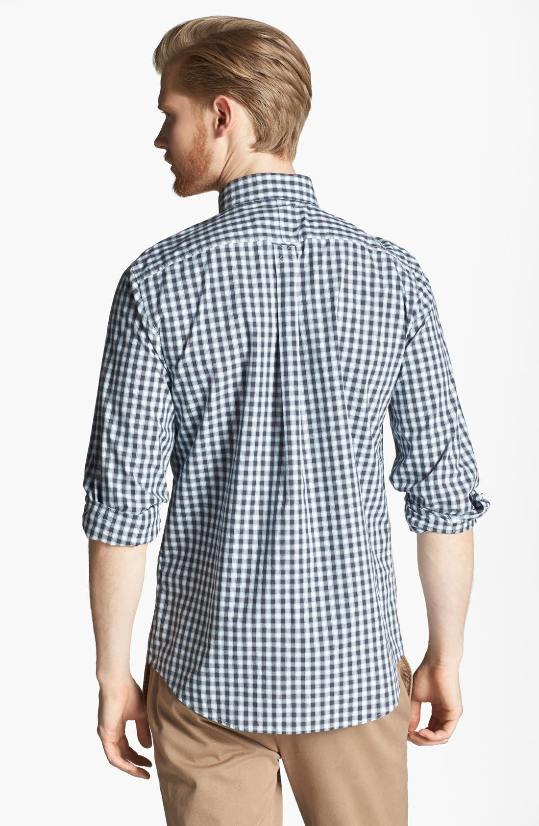Alternate Image 2  - Jack Spade 'Cameron' Gingham Check Woven Shirt