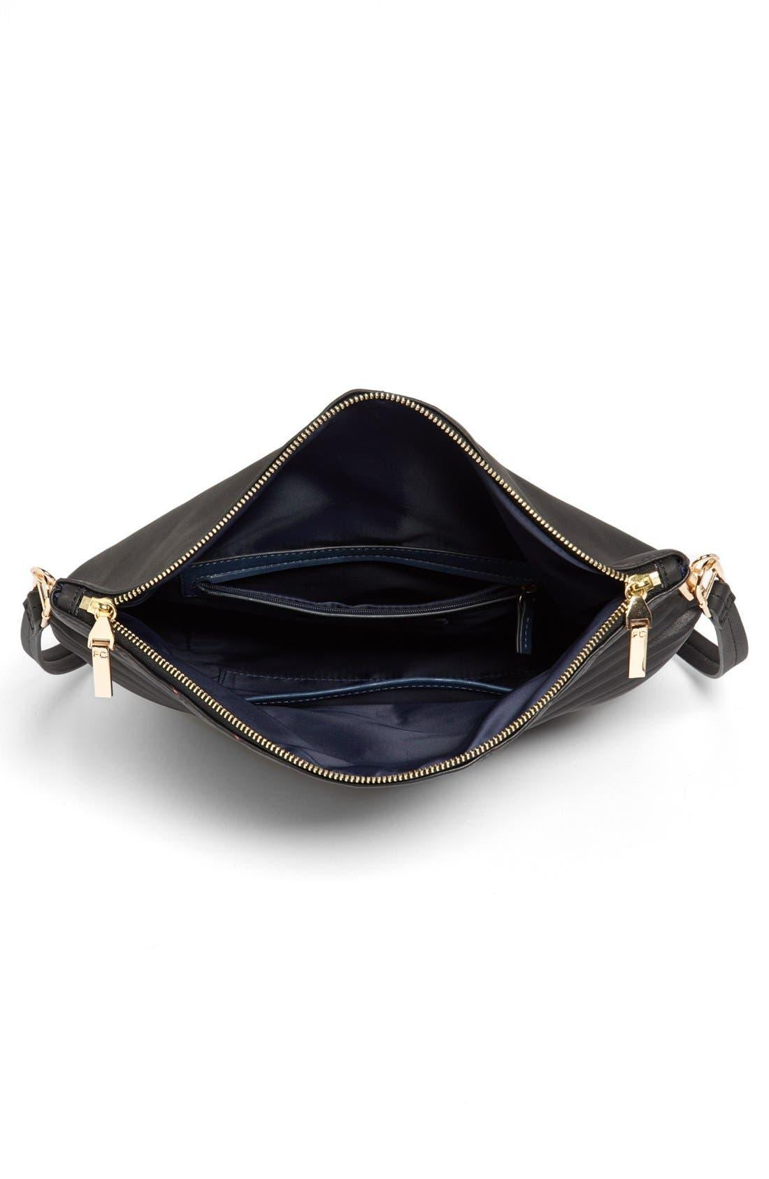 Alternate Image 3  - French Connection Faux Leather Shoulder Bag