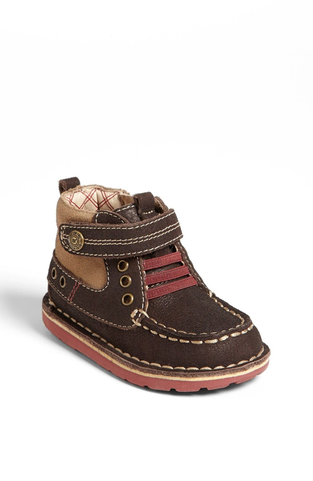 Alternate Image 1 Selected - Stride Rite 'Medallion Collection - Maxwell' Boot (Baby, Walker & Toddler)