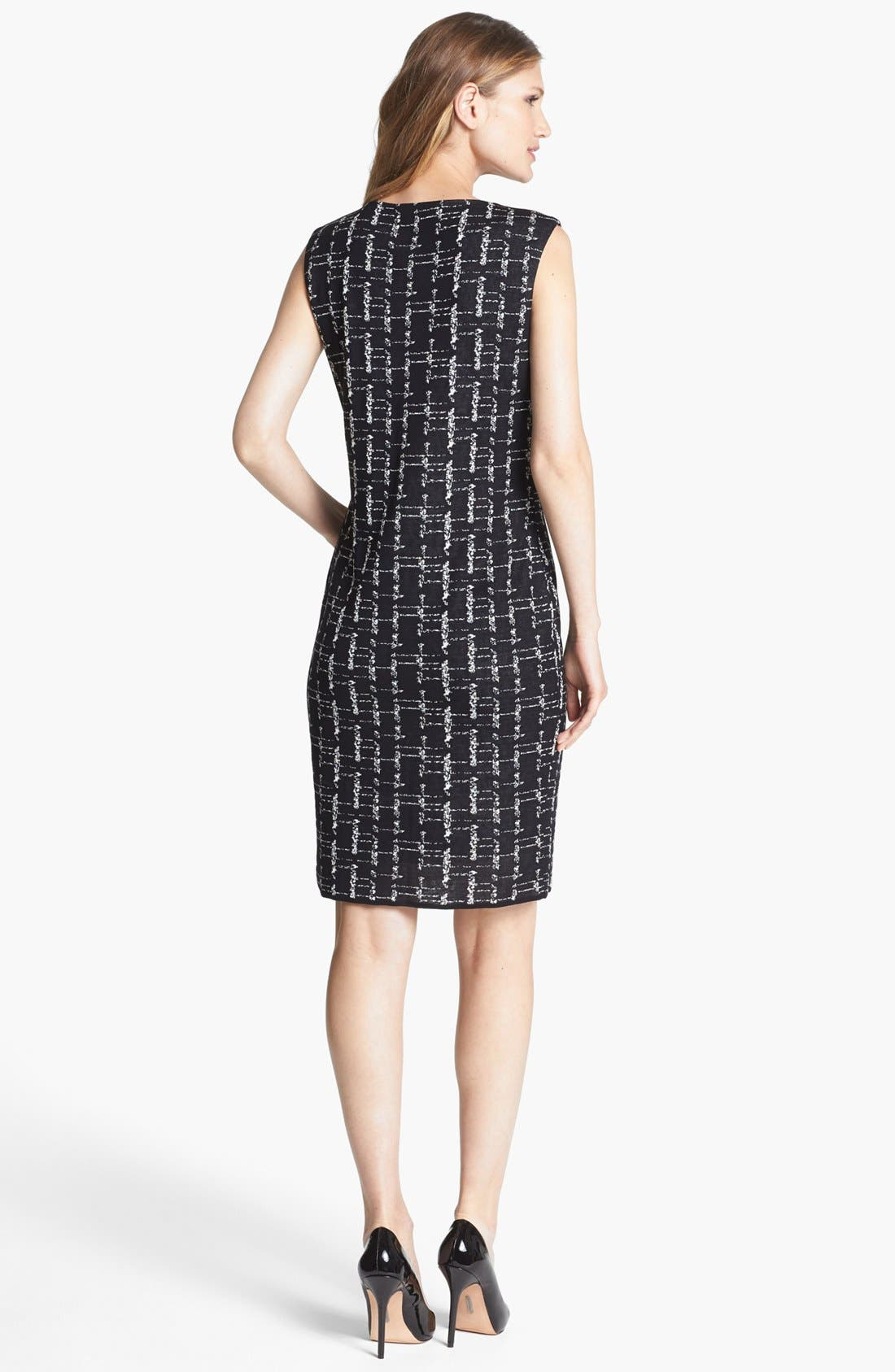 Alternate Image 2  - Misook 'Judy' Sheath Dress