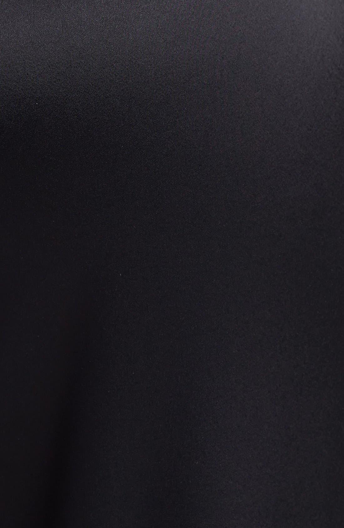 Alternate Image 4  - St. John Collection 'Diana' Wide Leg Liquid Satin Pants