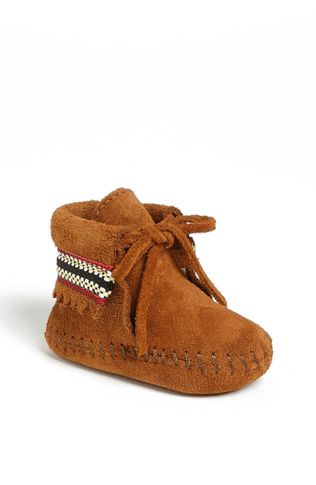 Minnetonka Braid Bootie (Baby & Walker)