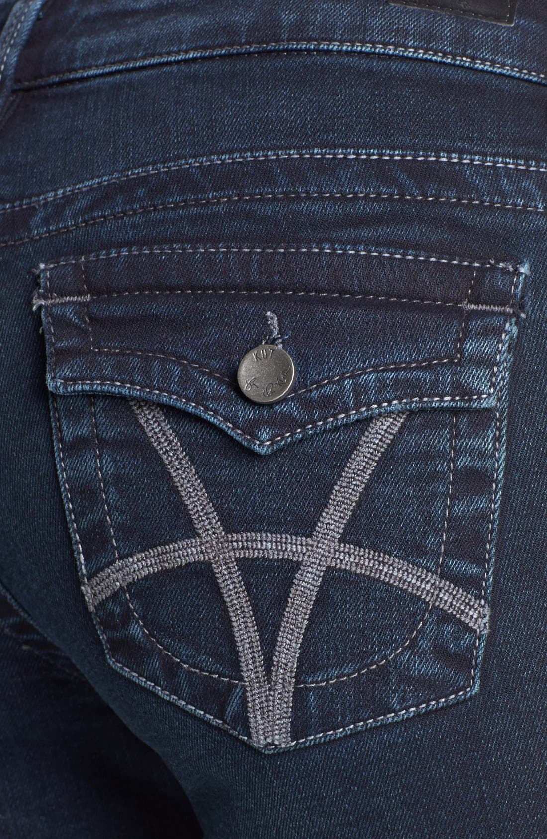 Alternate Image 3  - KUT from the Kloth 'Natalie' Bootcut Jeans (Conquer)