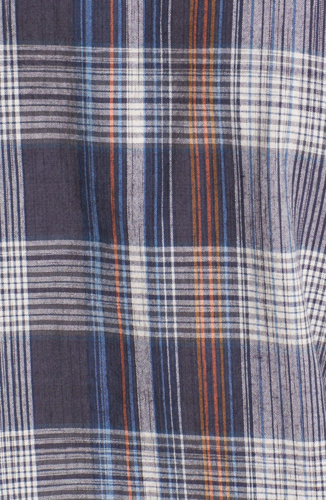 Alternate Image 2  - Vans 'Windsor' Plaid Woven Shirt