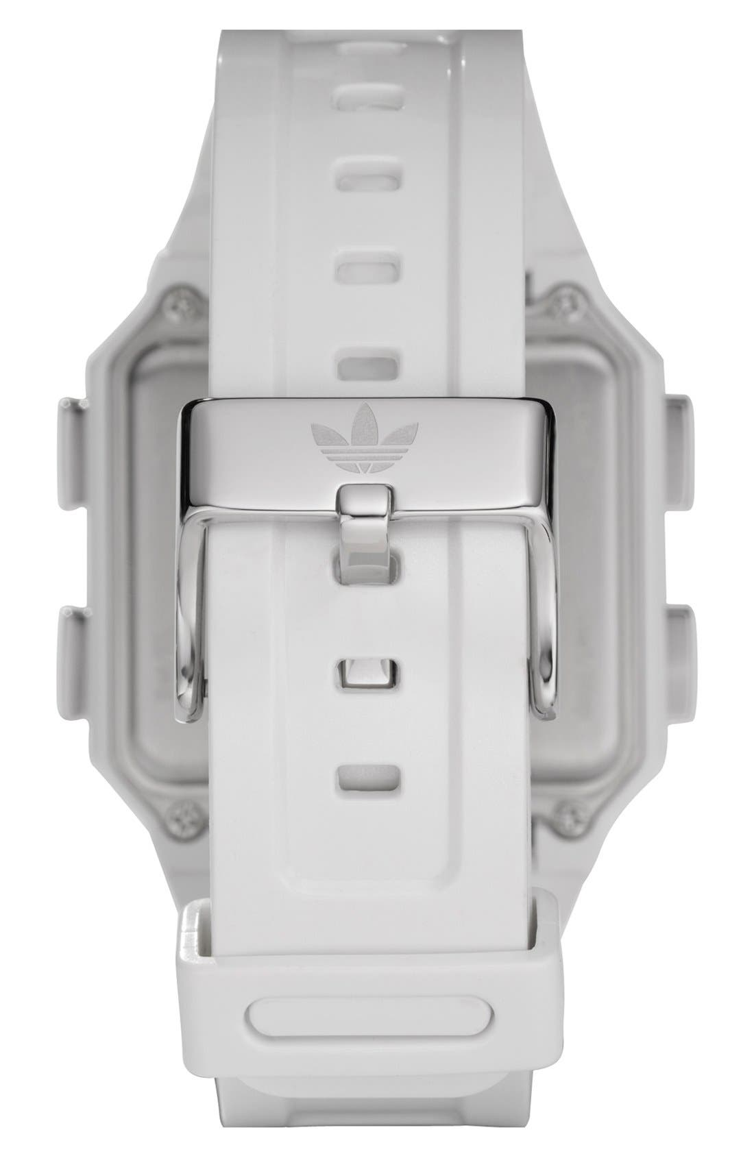 Alternate Image 2  - adidas Originals 'Peachtree' Digital Watch, 46mm x 39mm