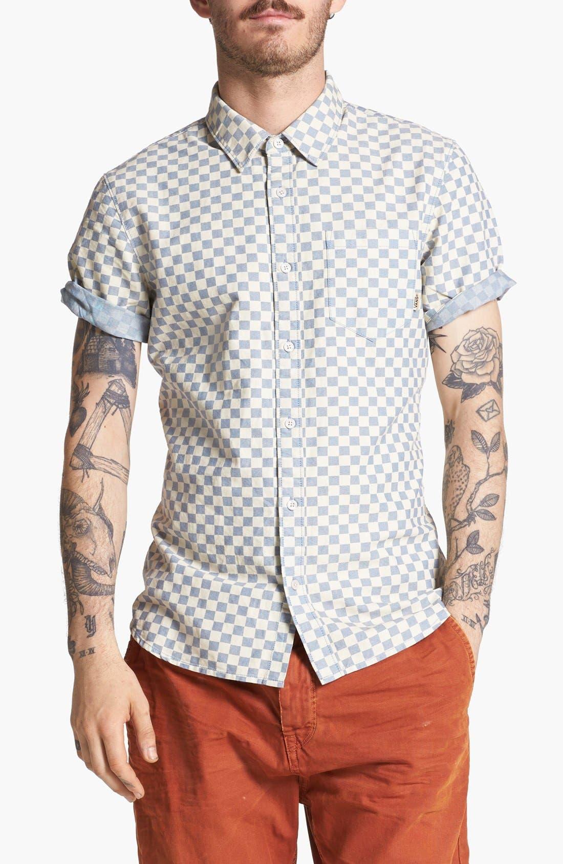 Alternate Image 1 Selected - Vans 'Edgeware' Short Sleeve Woven Shirt
