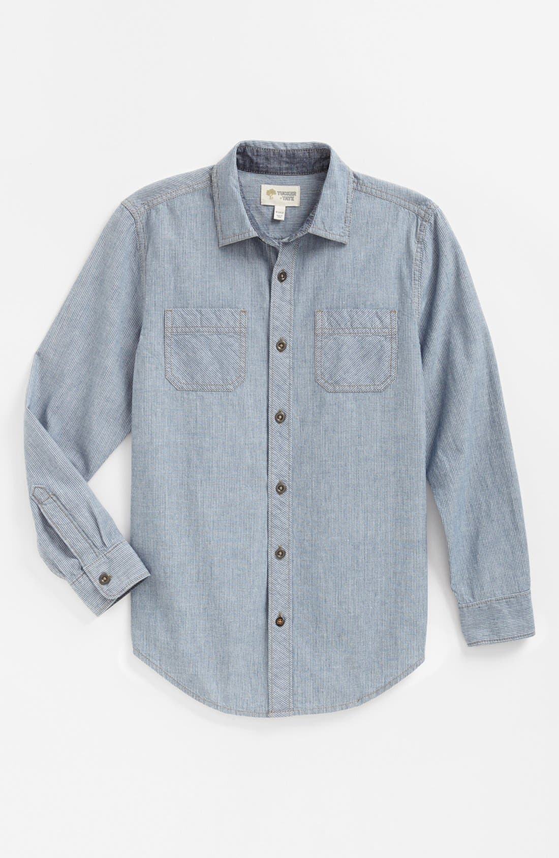Alternate Image 1 Selected - Tucker + Tate 'Bluewater' Woven Shirt (Big Boys)