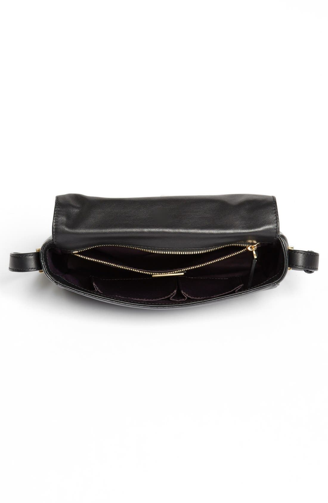 Alternate Image 2  - B Brian Atwood 'Brigitte' Calf Hair Crossbody Bag, Small