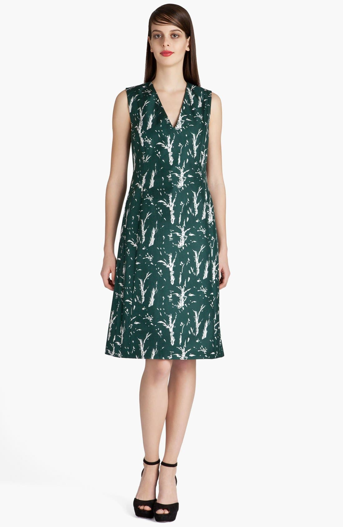 Alternate Image 1 Selected - Marni Forest Print A-Line Dress