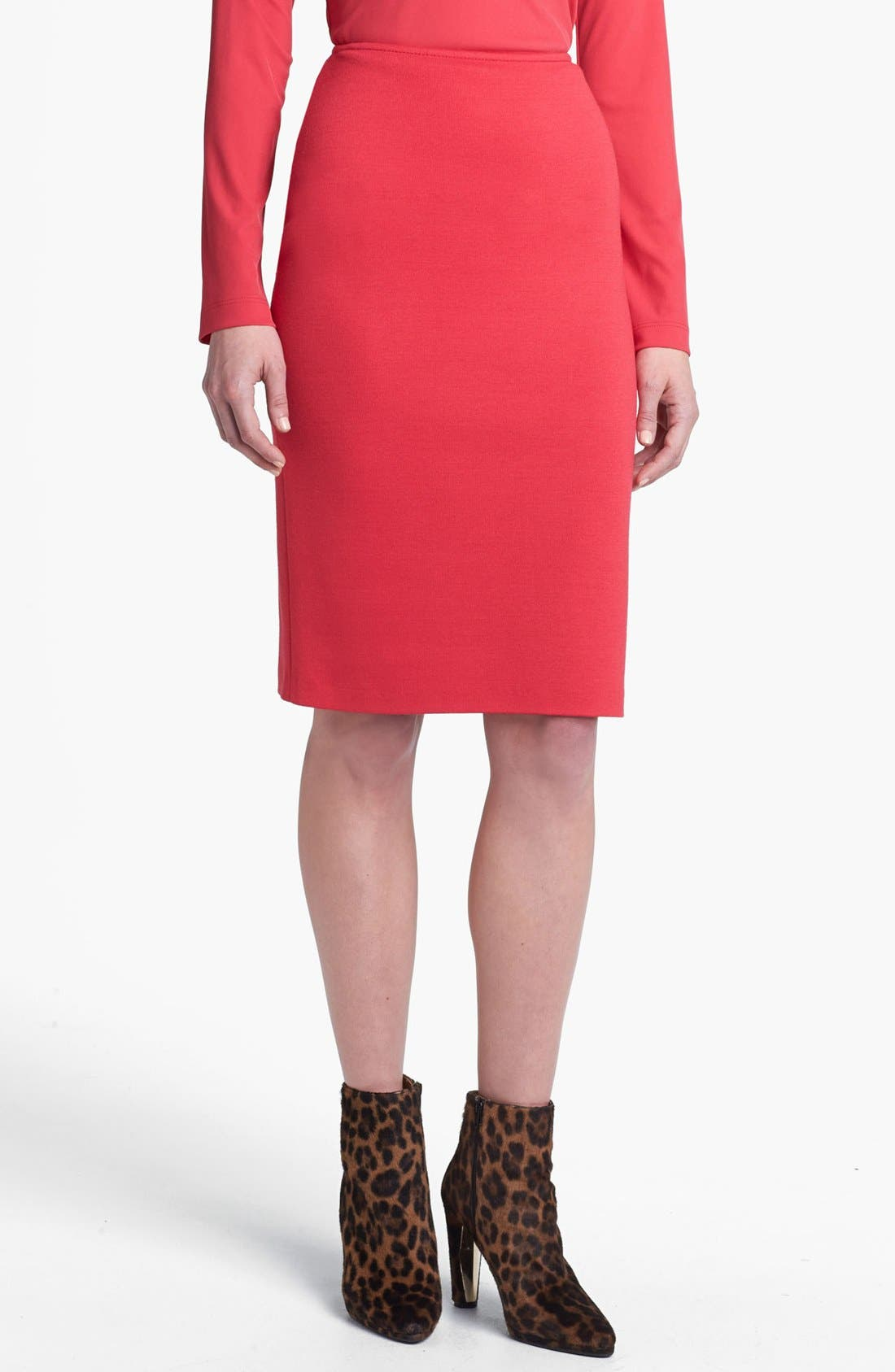 Alternate Image 1 Selected - St. John Collection Milano Knit Pencil Skirt