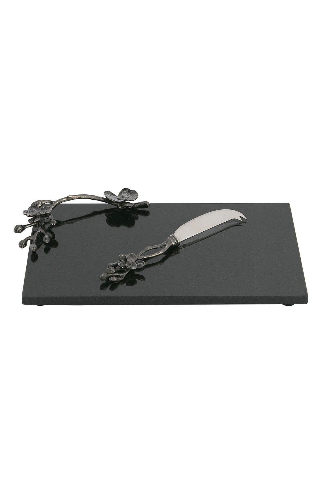 MICHAEL ARAM 'Black Orchid' Small Cheese Board