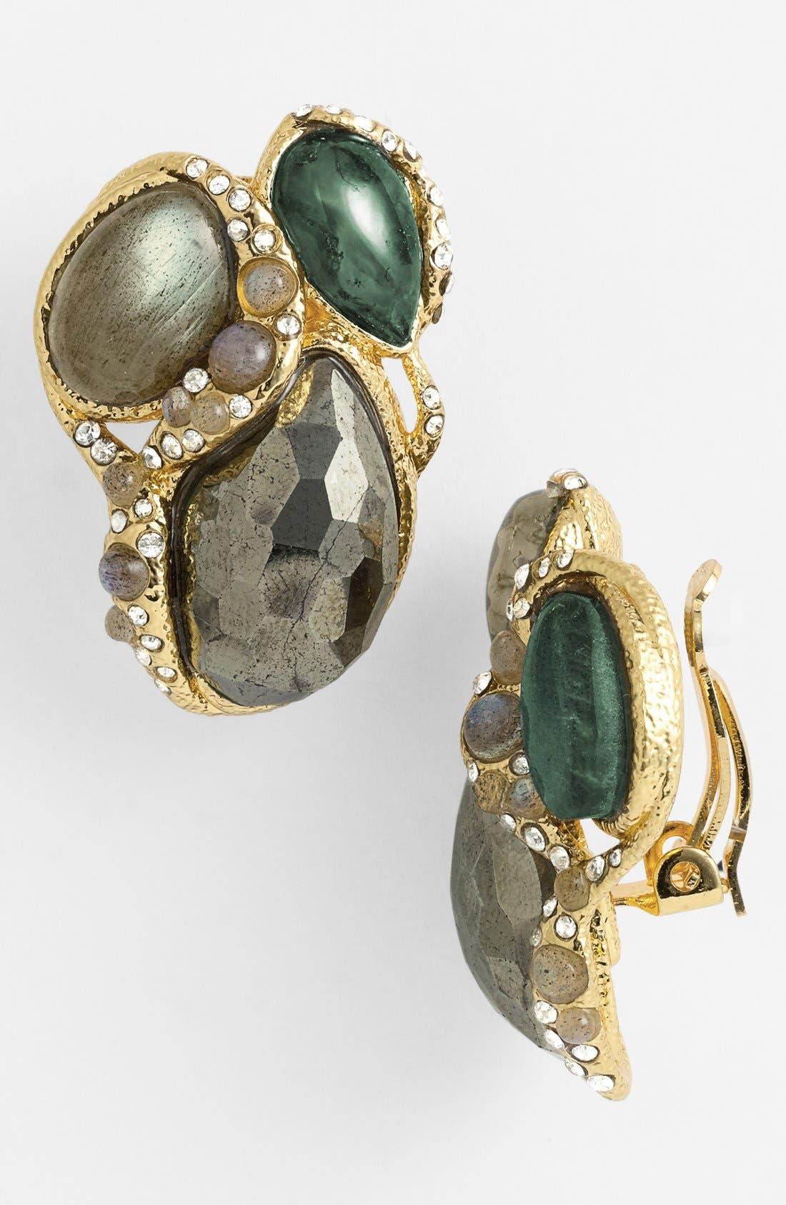 Main Image - Alexis Bittar 'Elements - Jardin de Papillon' Clip Earrings