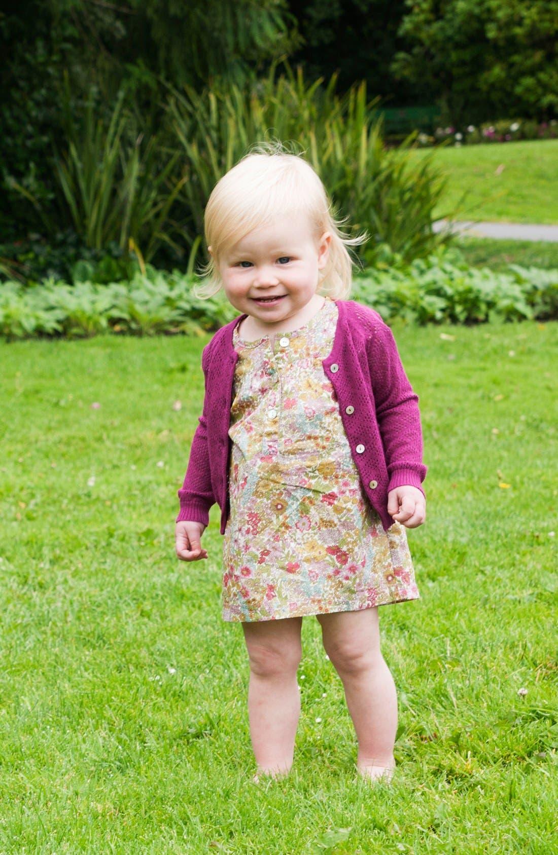 Alternate Image 2  - Peek 'Annie' Dress (Baby Girls)