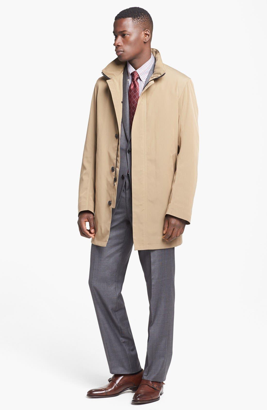 Alternate Image 6  - Hickey Freeman 'B Series' Classic Fit Plaid Suit