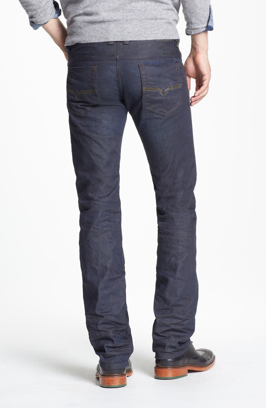 Alternate Image 2  - DIESEL® 'Safado' Slim Fit Jeans (0806X)