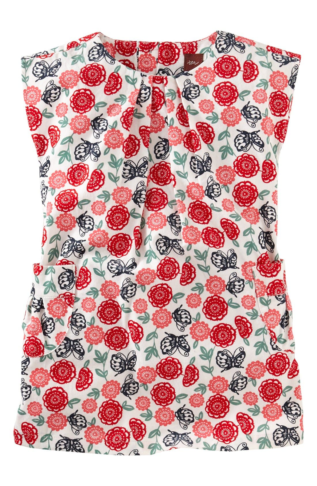 Alternate Image 1 Selected - Tea Collection 'Butterfly' Dress (Toddler Girls)