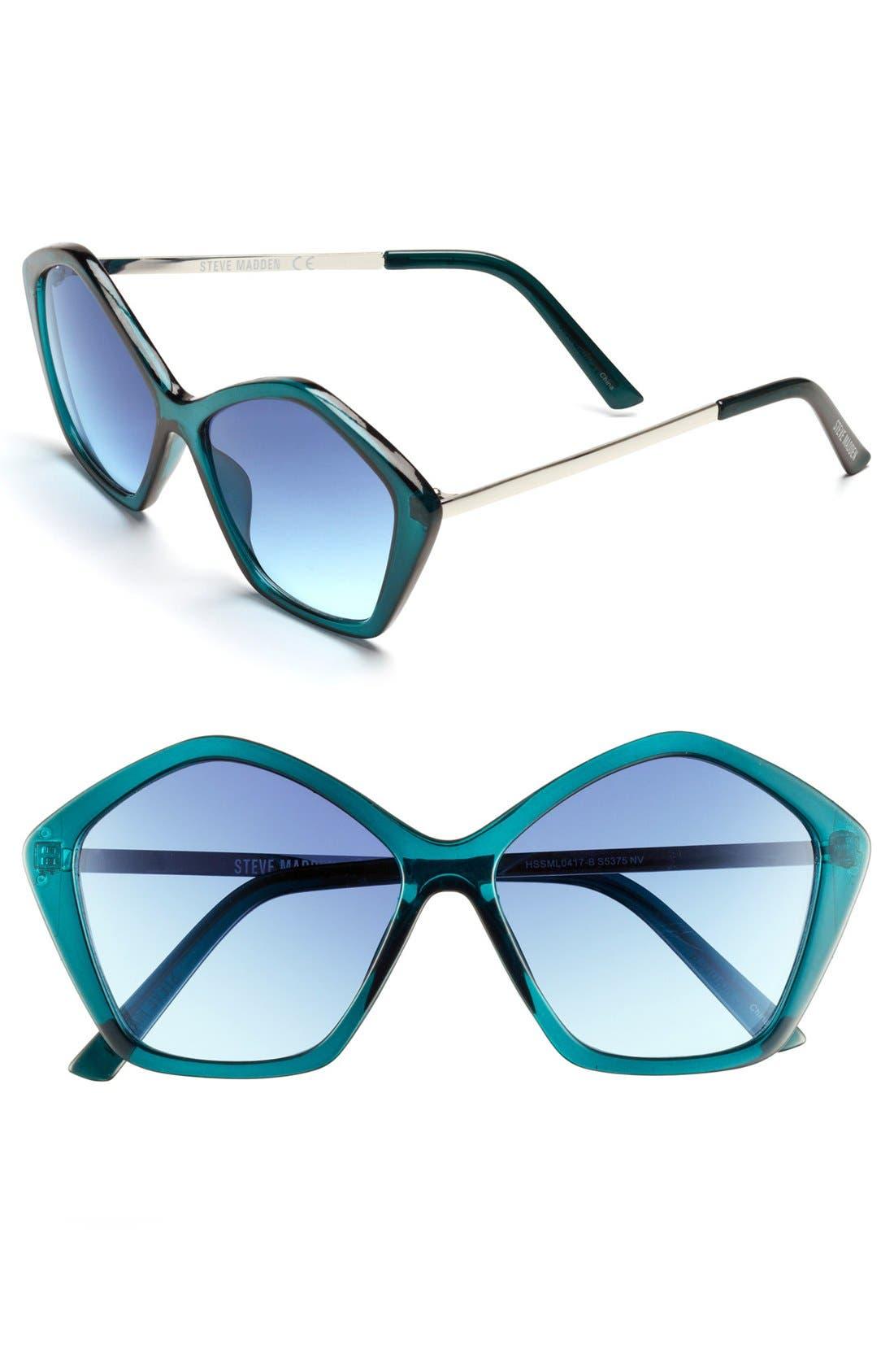 Alternate Image 1 Selected - Steve Madden 56mm Sunglasses