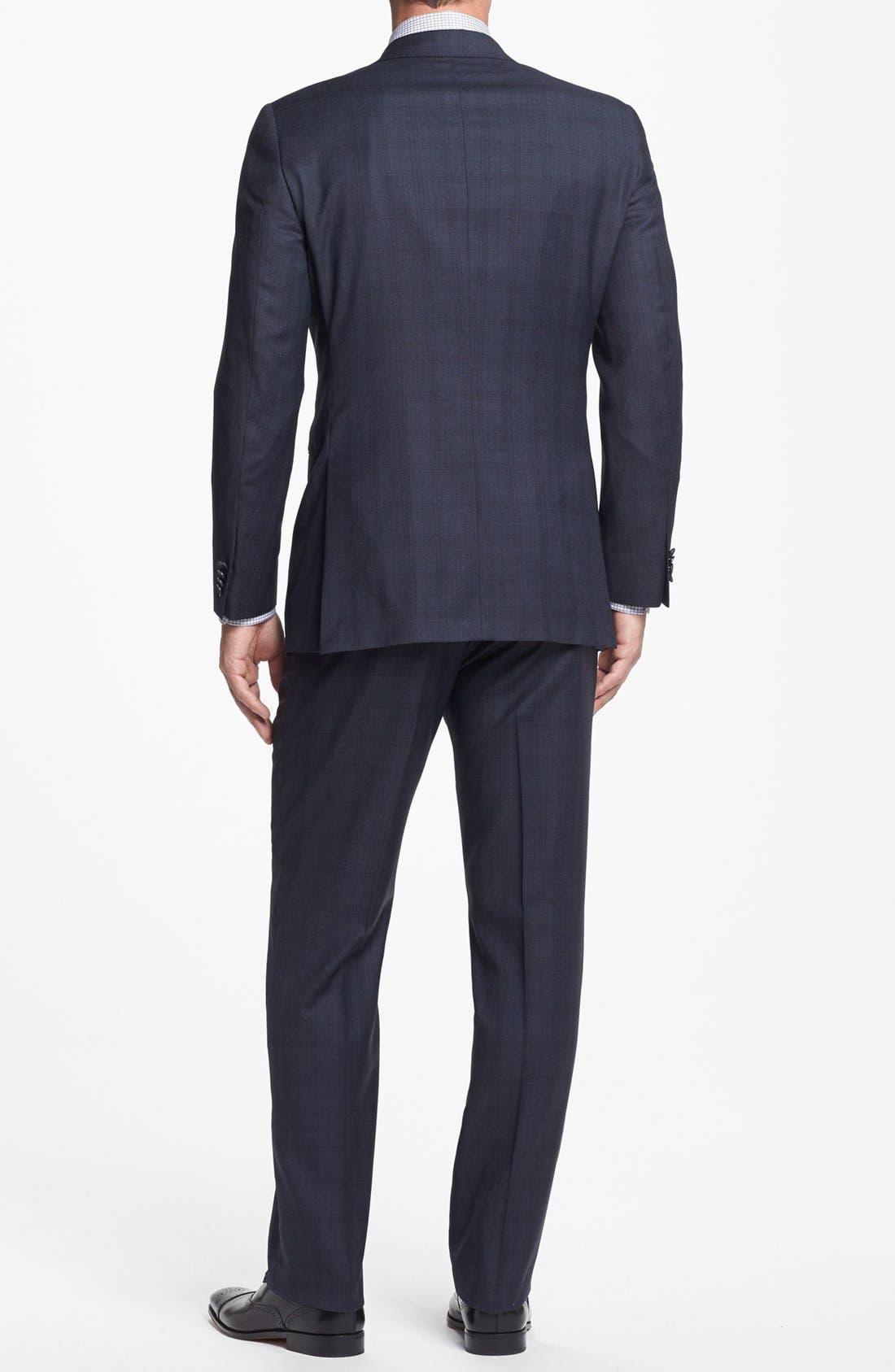 Alternate Image 3  - Hart Schaffner Marx Classic Fit Plaid Suit