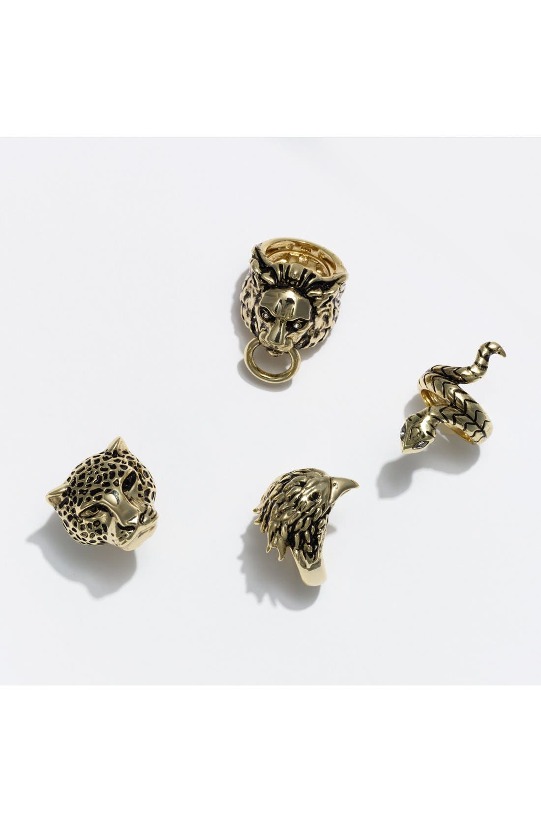 Alternate Image 4  - Ariella Collection 'Critters' Snake Ring (Nordstrom Exclusive)