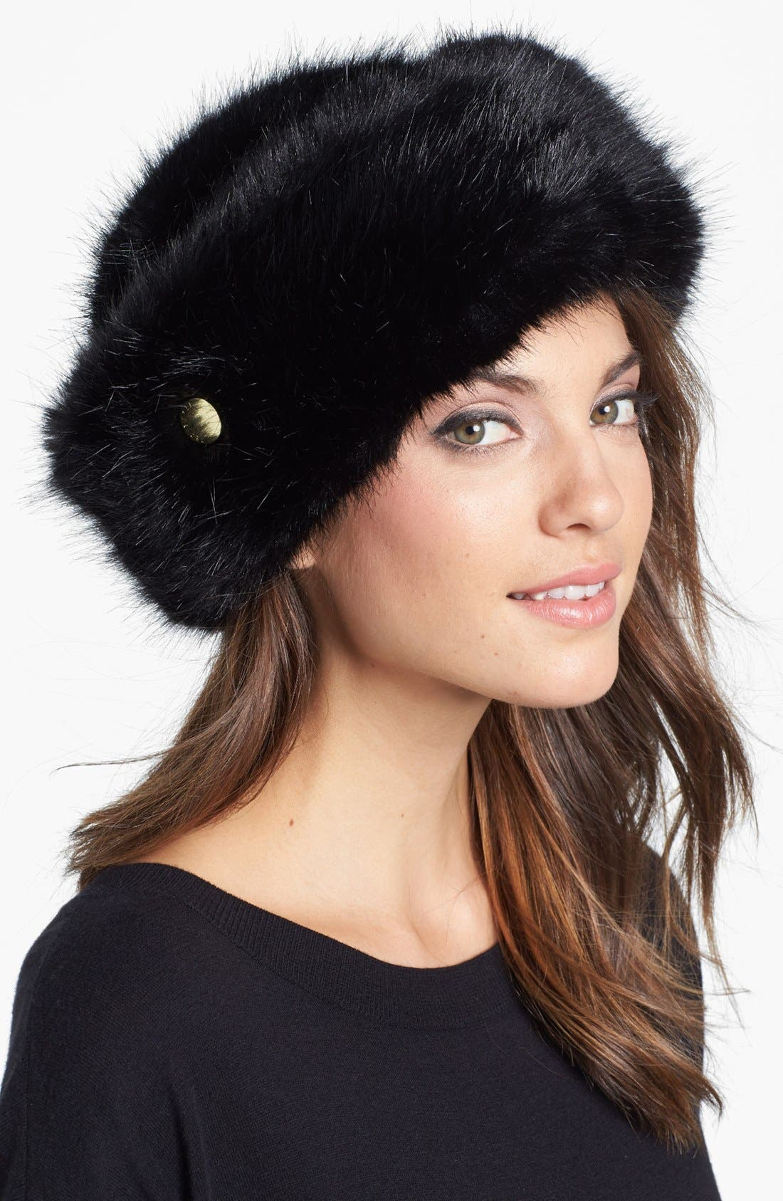 Alternate Image 1 Selected - Ted Baker London Faux Fur Hat