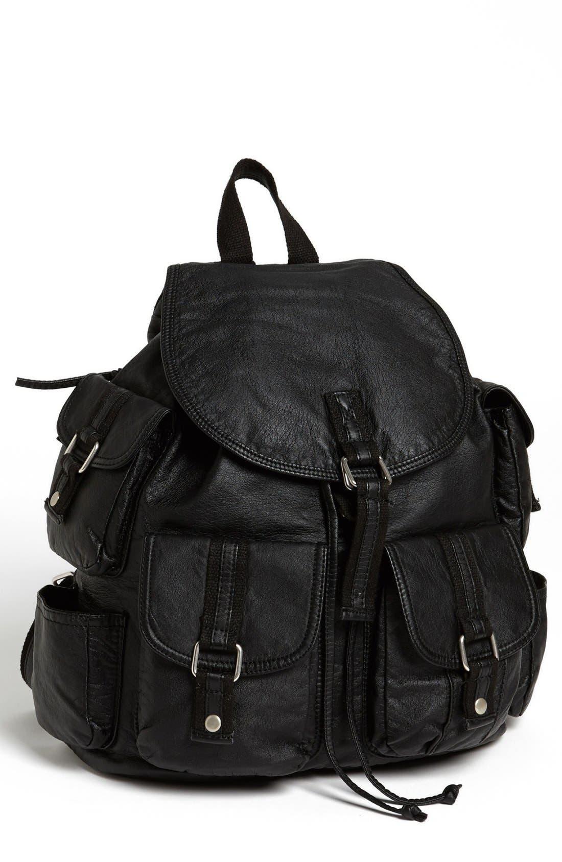 Alternate Image 1 Selected - Cesca 'Lotsa Pockets' Backpack (Juniors) (Online Only)