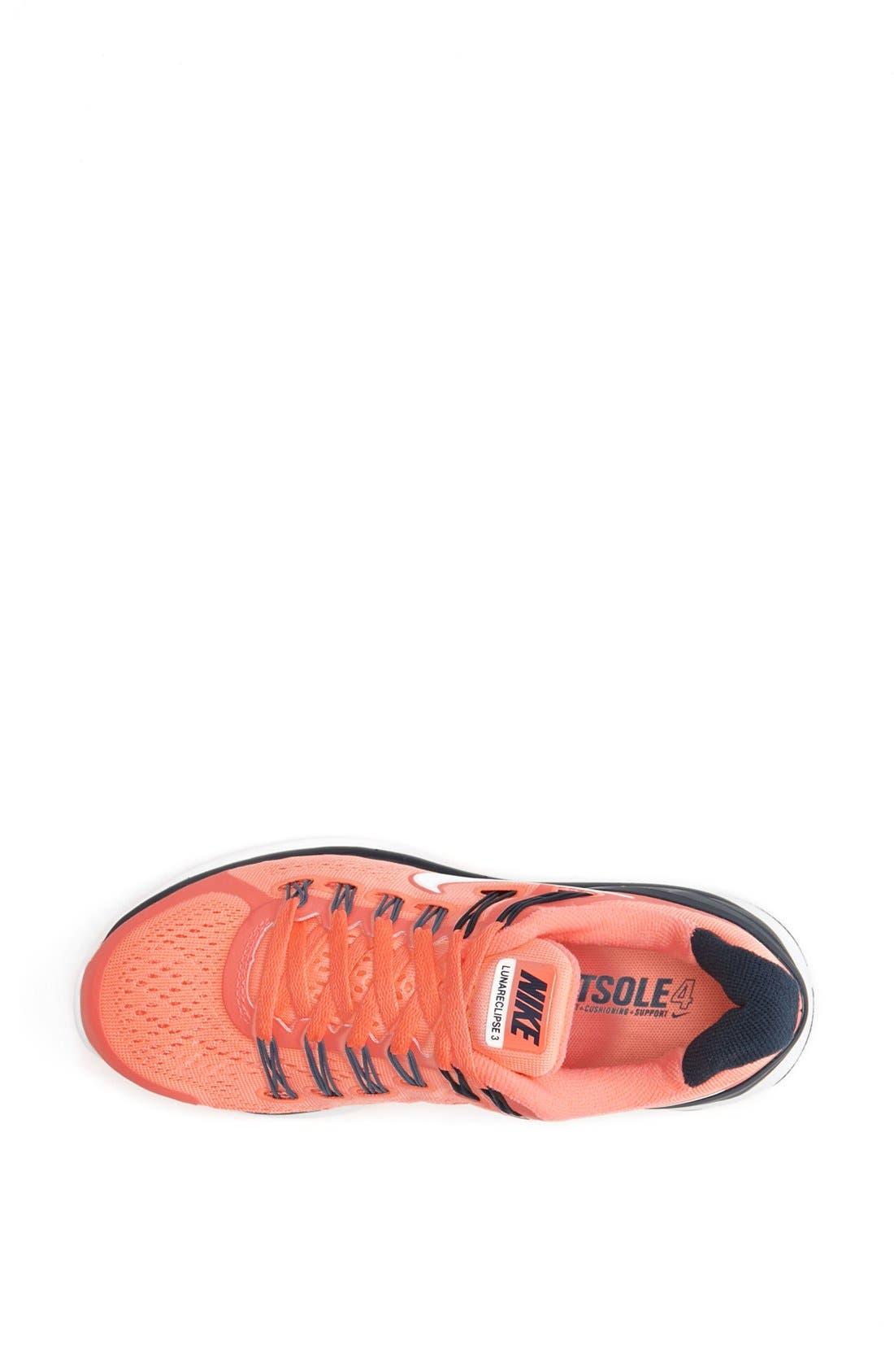 Alternate Image 3  - Nike 'LunarEclipse+ 3' Running Shoe (Women)