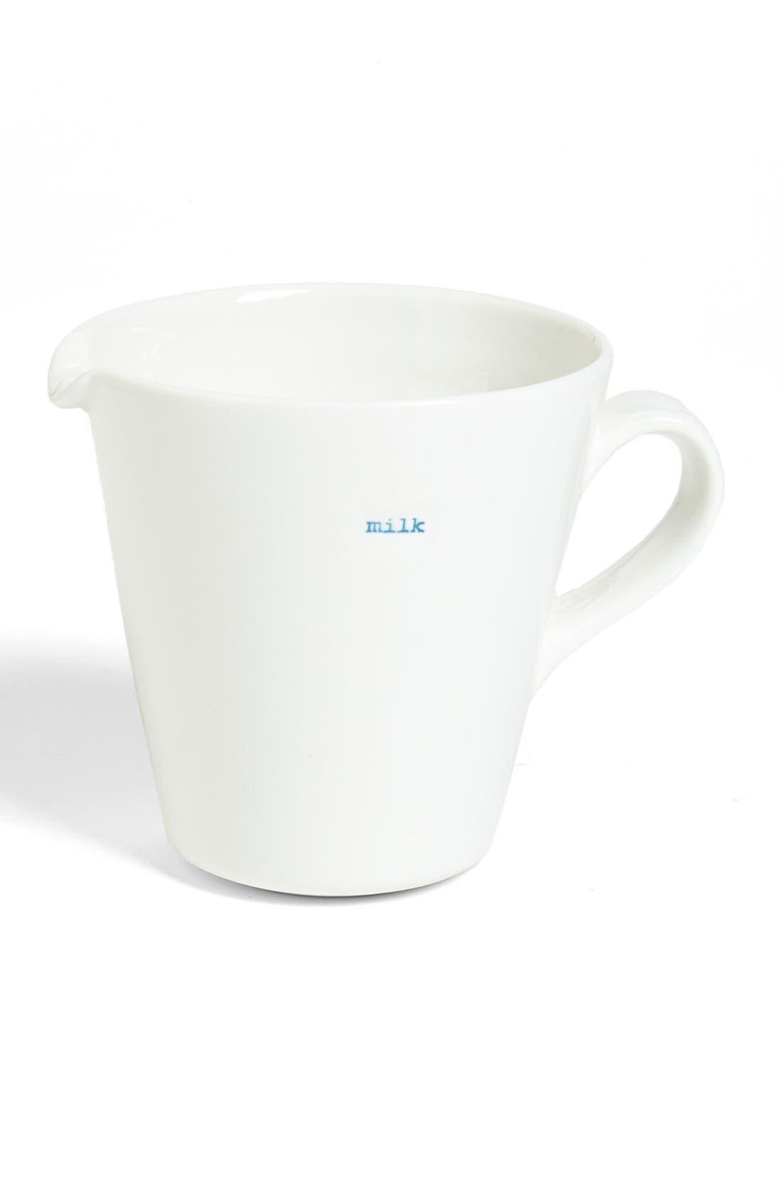 Alternate Image 1 Selected - Make International 'Milk' Porcelain Jug