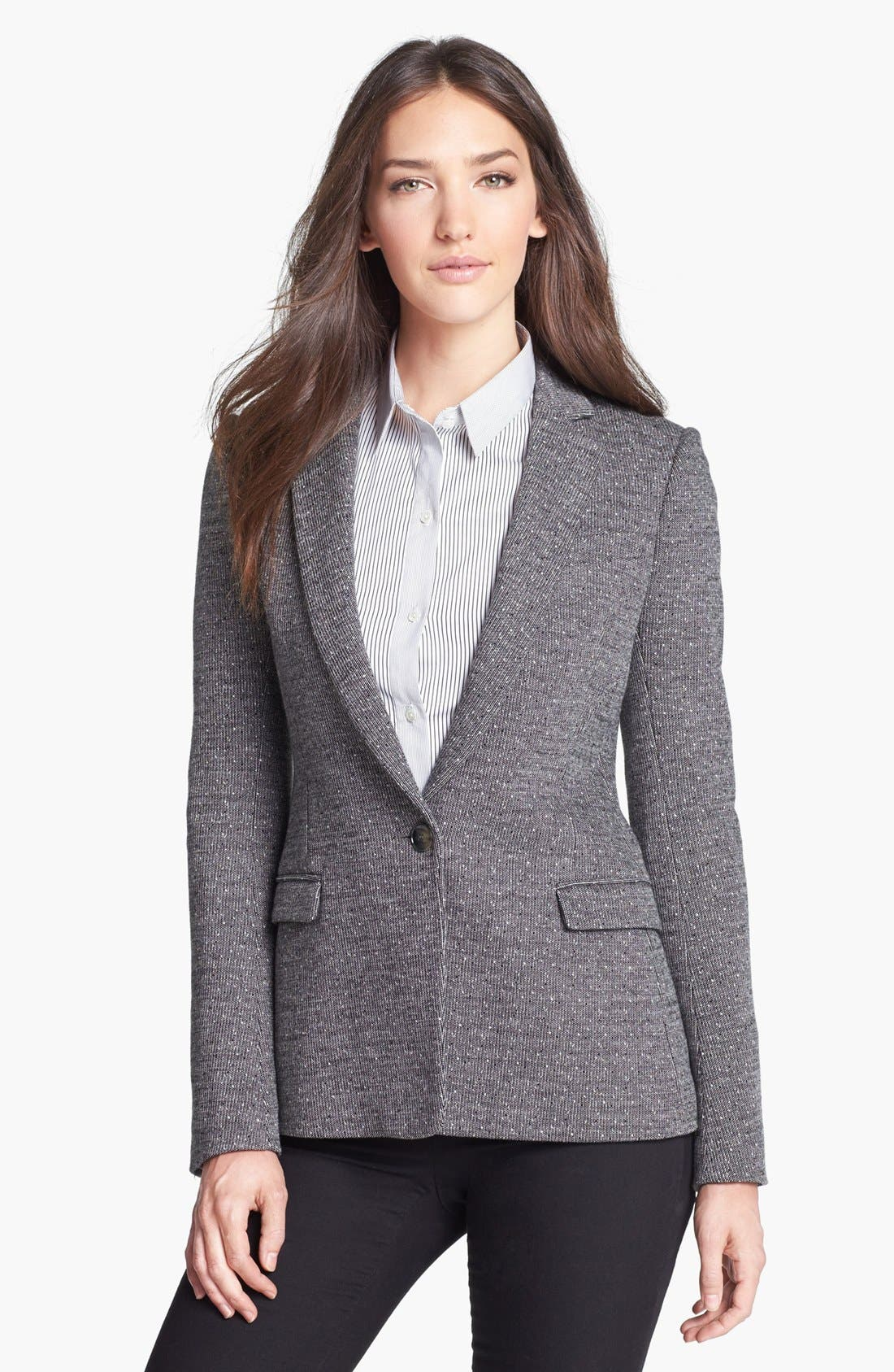 Alternate Image 1 Selected - Theory 'Dancey' Knit Blazer