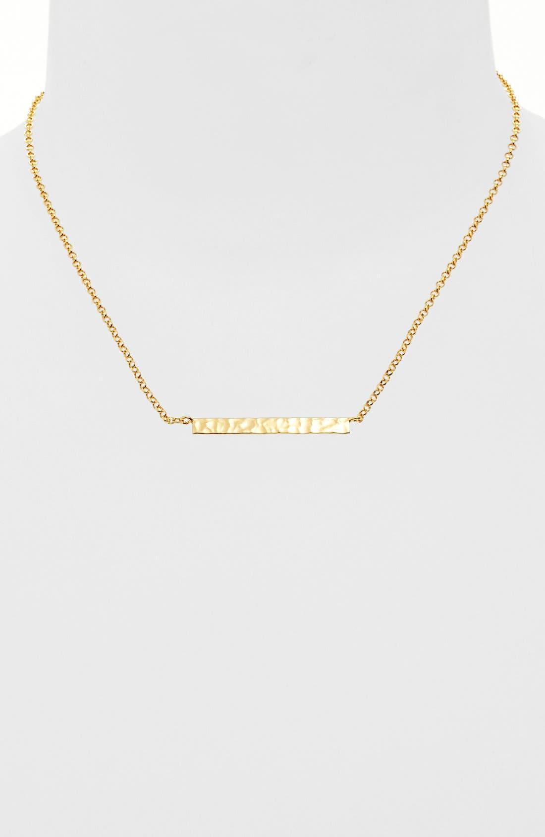 Alternate Image 1 Selected - Argento Vivo 'Sunray' Pendant Necklace