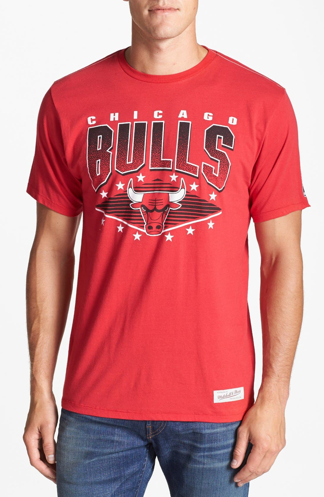 Alternate Image 1 Selected - Mitchell & Ness 'Chicago Bulls' T-Shirt