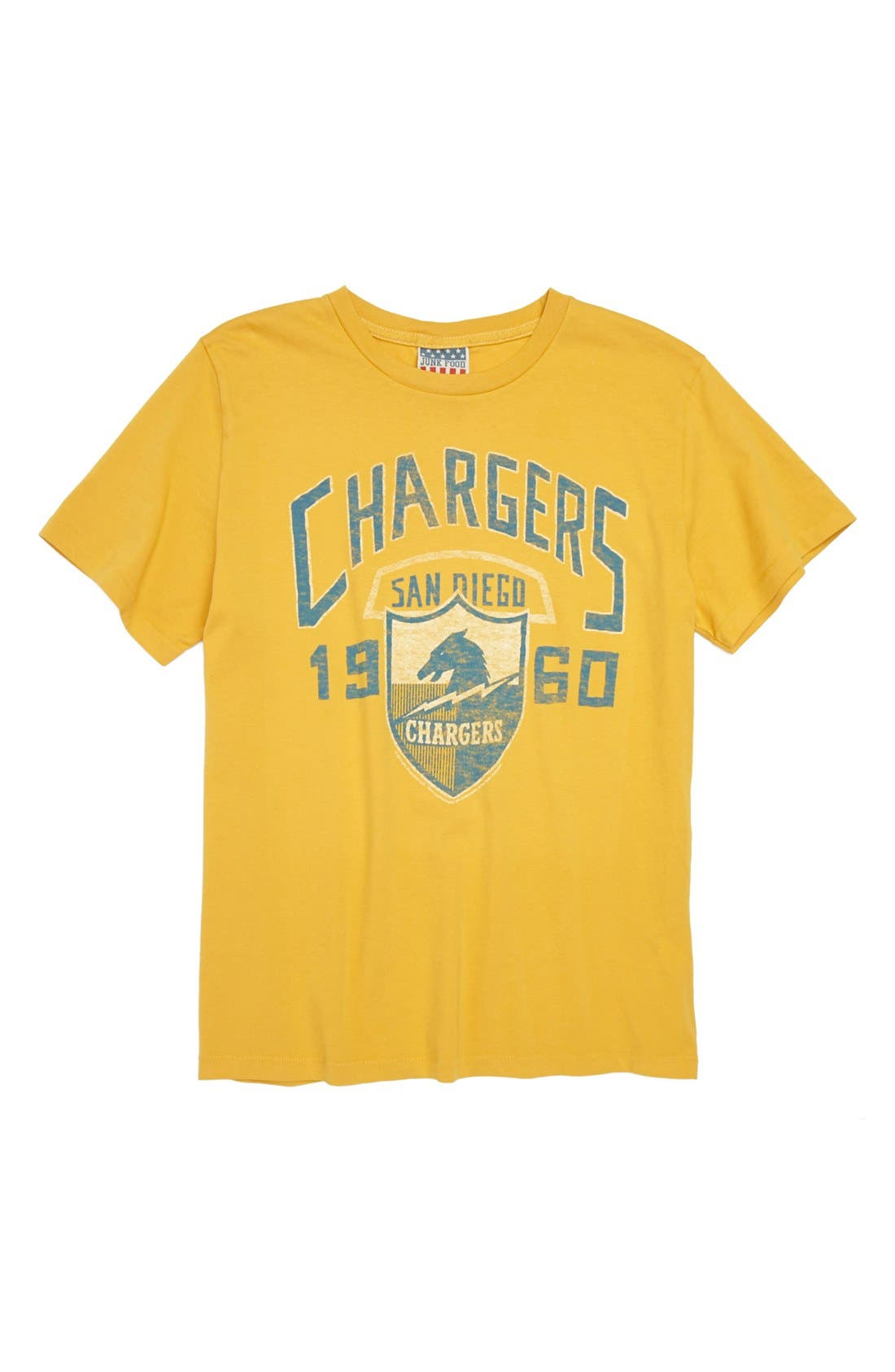 Alternate Image 1 Selected - Junk Food 'San Diego Chargers' T-Shirt (Little Boys & Big Boys)