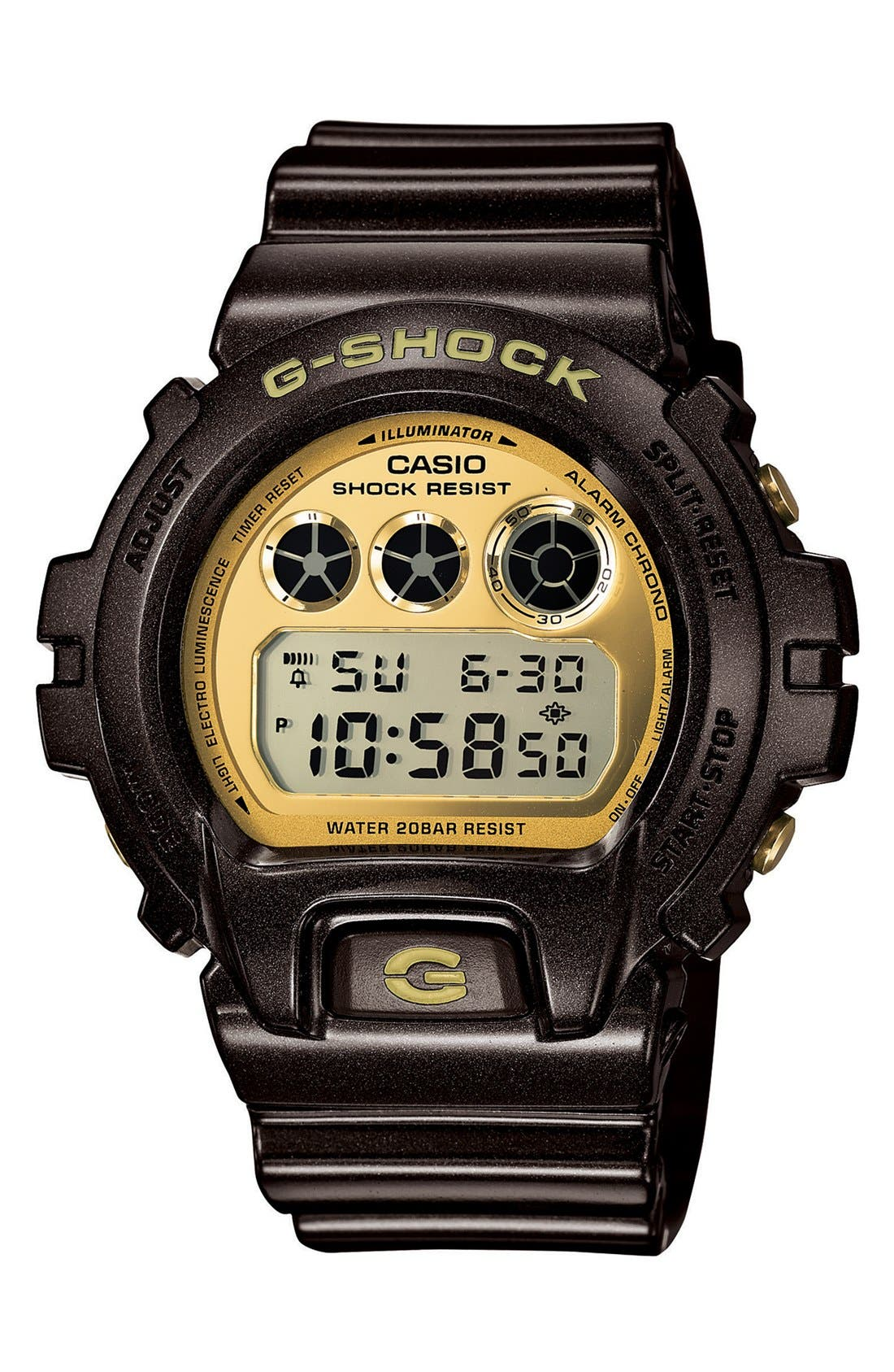 Main Image - G-Shock Digital Watch, 53mm x 50mm