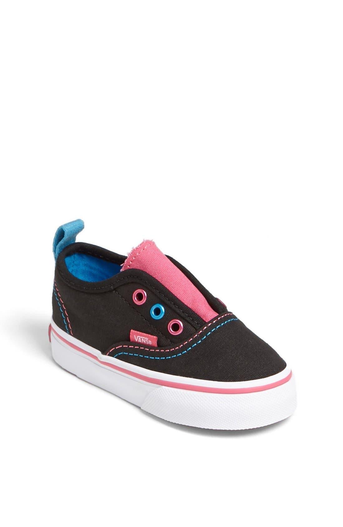 Alternate Image 1 Selected - Vans 'Authentic V' Sneaker (Baby, Walker & Toddler)