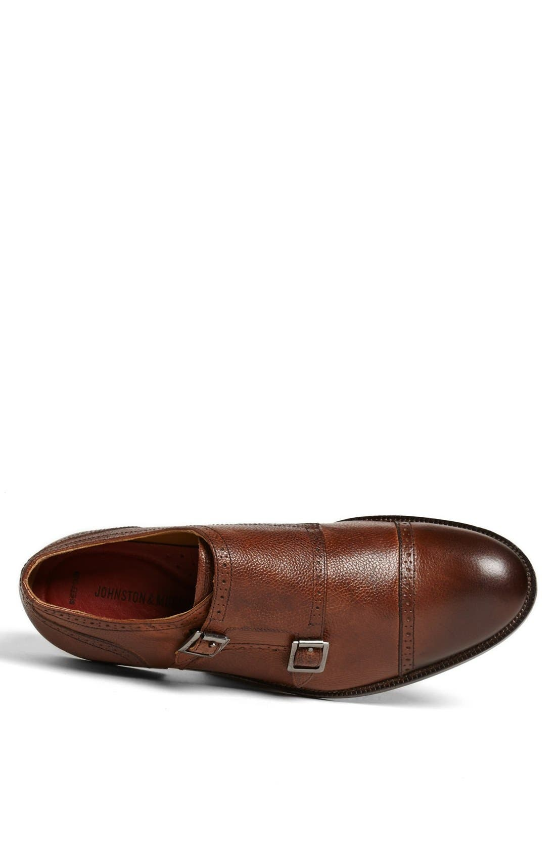 Alternate Image 3  - Johnston & Murphy 'Clayton' Double Monk Slip-On (Online Only)