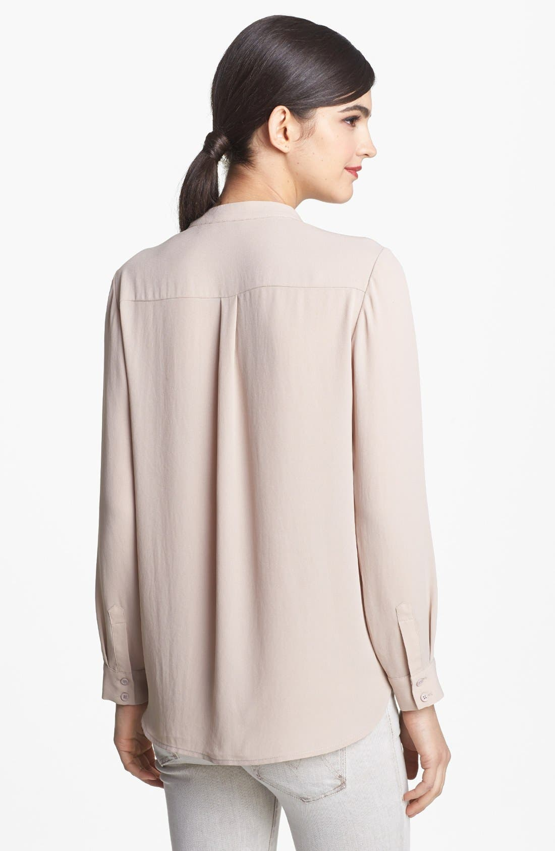 Alternate Image 2  - Ro & De Long Sleeve Surplice Top (Regular & Petite)