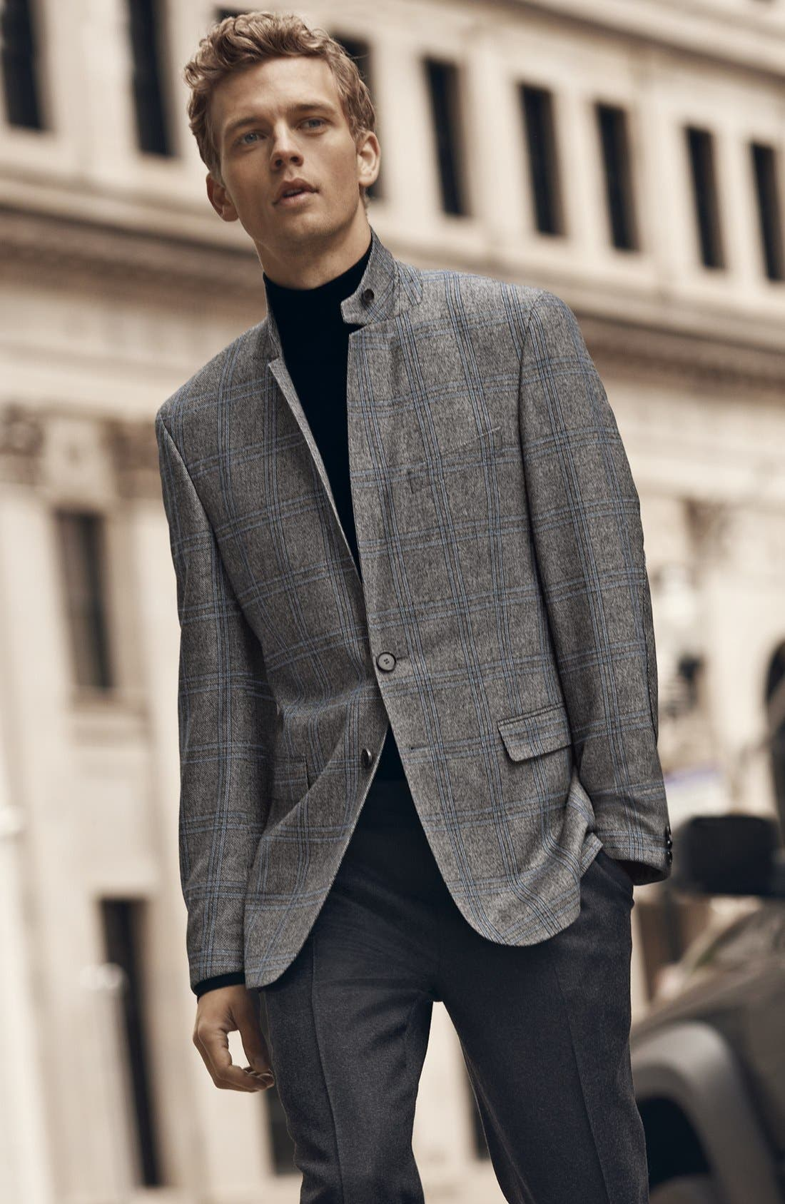 Alternate Image 1 Selected - BOSS HUGO BOSS Sportcoat & Trousers