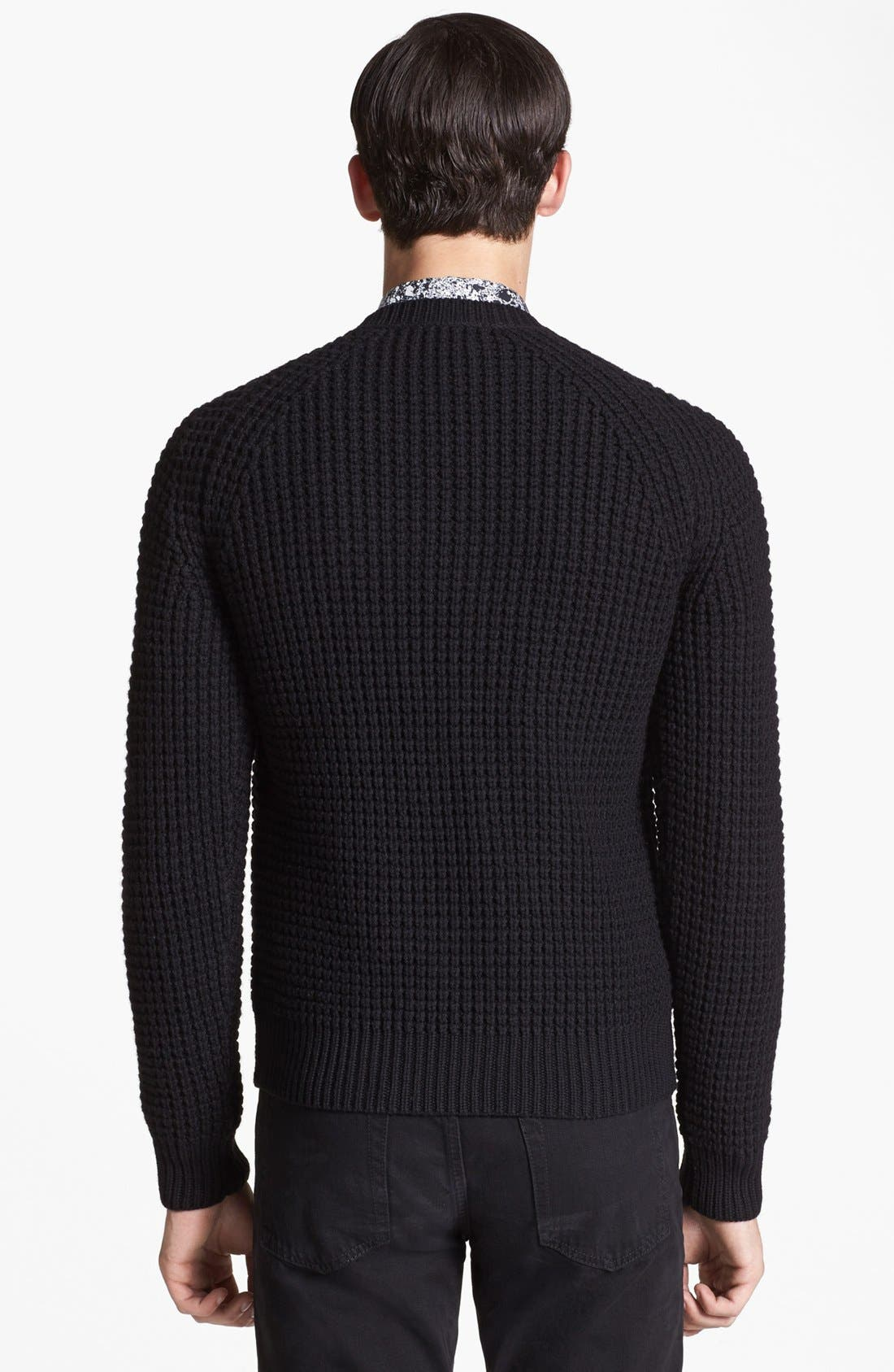 Alternate Image 2  - sandro 'Fear' Merino Wool Sweater